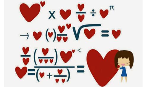 Những đề toán 'bá đạo' về tình yêu