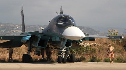 Su-34 tiếp liệu trên không, tìm diệt mục tiêu 1