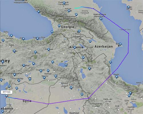 Chiến thuật máy bay Nga qua mặt Mỹ, bí mật vào Syria 2