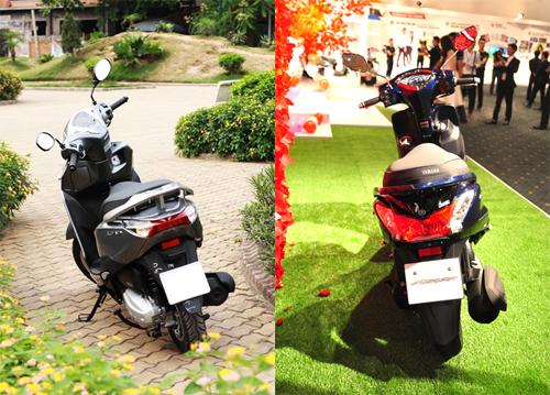 Honda Lead và Yamaha Acruzo - cuộc chiến xe tay ga mới tại Việt Nam 2