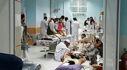 60 phút dội bom của máy bay Mỹ xuống bệnh viện Afghanistan 1