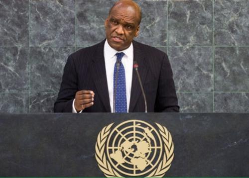 Ông John Ashe, cựu chủ tịch Đại Hội đồng Liên Hợp Quốc