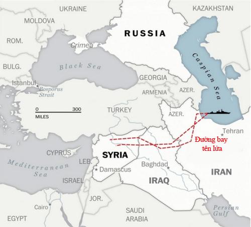 """Nga """"đem gươm chém ruồi"""" khi dùng tên lửa hành trình diệt IS 3"""