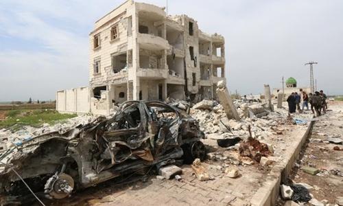 IS bắn đạn pháo chứa hóa chất, hủy hoại nội tạng nạn nhân 3