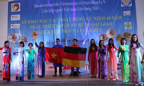 Người Việt ở Đức kỷ niệm 40 năm quan hệ ngoại giao hai nước