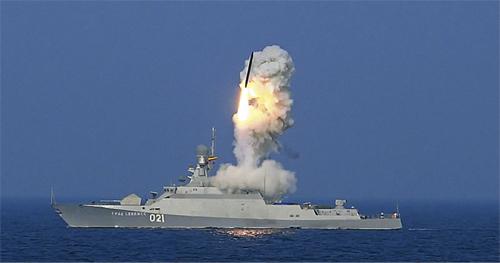 Hỏa lực tên lửa hành trình diệt IS của Nga 1