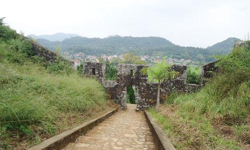 Dấu tích thành nhà Mạc tại Lạng Sơn