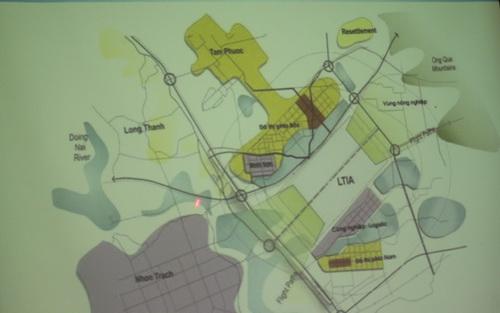 Hạn chế quy hoạch dự án quanh sân bay Long Thành 1