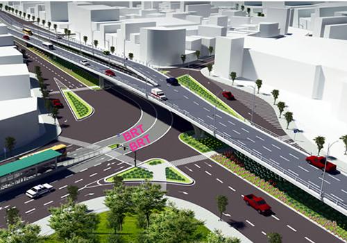 Đà Nẵng xây thêm cầu vượt vào trung tâm thành phố 1