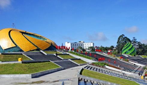 Công trình nụ hoa khổng lồ của Đà Lạt thừa hơn 100 tỷ đồng