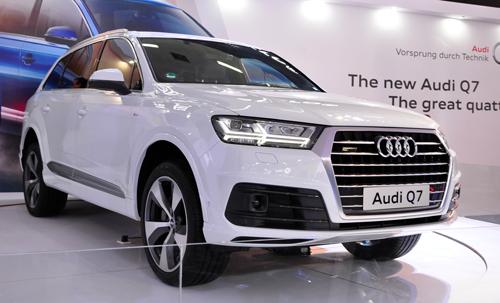 Dàn xe sang của Audi tại VIMS 2015 2
