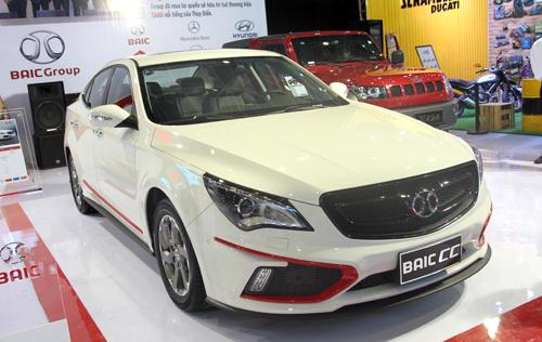 BAIC - thương hiệu xe hơi Trung Quốc tại VIMS 2015 2