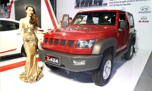 BAIC - thương hiệu xe hơi Trung Quốc tại VIMS 2015 1