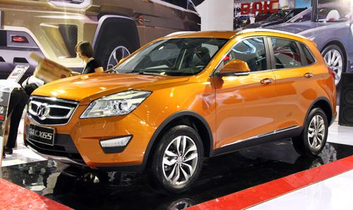 BAIC - thương hiệu xe hơi Trung Quốc tại VIMS 2015 3