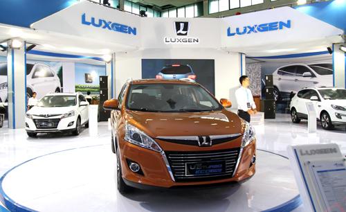 Luxgen trình diễn dàn xe công nghệ tại VIMS 2015 1