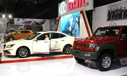 BAIC - thương hiệu xe hơi Trung Quốc tại VIMS 2015
