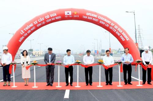 TP HCM thông xe cầu Gò Dưa trên đại lộ Phạm Văn Đồng 1