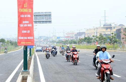 TP HCM thông xe cầu Gò Dưa trên đại lộ Phạm Văn Đồng 2