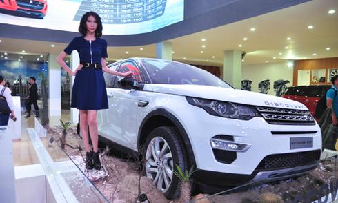 Land Rover và 4 mẫu SUV hạng sang cho khách Việt