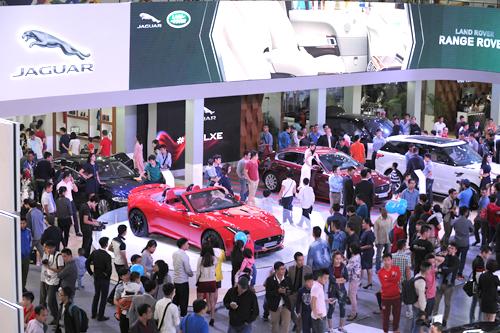 Chiêm ngưỡng Siêu xe Jaguar tại VIMS 2015