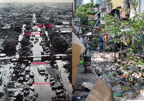 Ba Cẳng - cầu đi bộ đầu tiên ở Sài Gòn 3