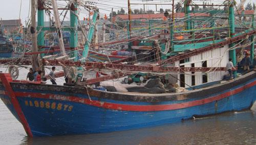 Nhiều ngư dân gặp nạn do biển động 1