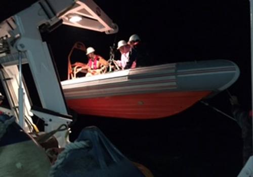 Nhiều ngư dân gặp nạn do biển động 2