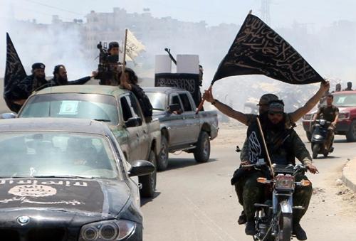 Fighters from Al-Qaeda