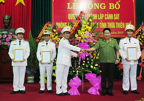 Thừa Thiên - Huế lập Sở cảnh sát phòng cháy chữa cháy 1