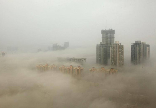 Không khí ô nhiễm từ Trung Quốc tràn sang Việt Nam vào mùa đông 1