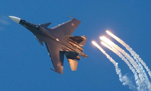 Tiêm kích Su-30SM Nga đọ sức F-16 Mỹ ở Syria 1