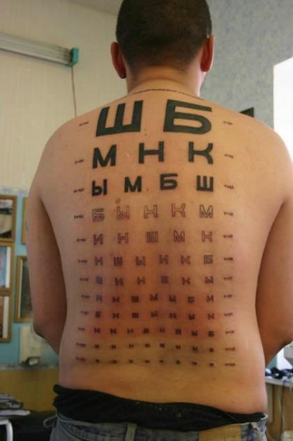 Bạn đã sẵn sàng kiểm tra thị lực với bảng đo độ thú vị này chưa?