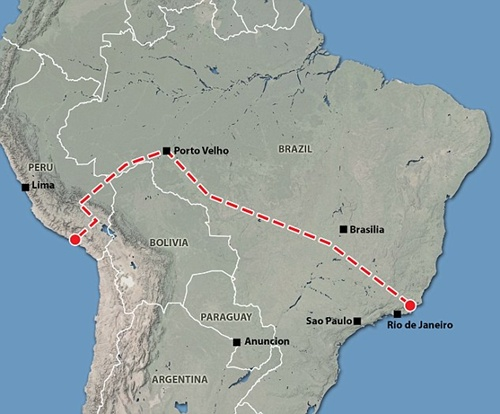 Những tuyến đường sắt ngổn ngang của Trung Quốc ở nước ngoài 2