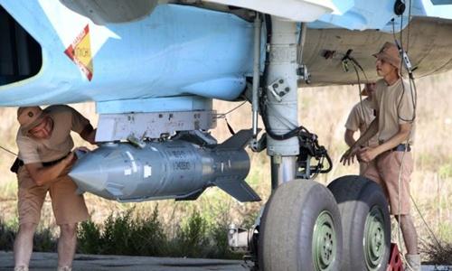 Nghi hoặc về tần suất bom thông minh Nga dội xuống Syria 1