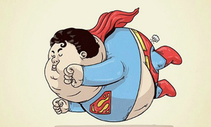 Khi các siêu anh hùng phát phì