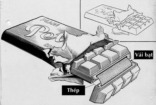 Thanh chocolate ám sát của phát xít Đức 1