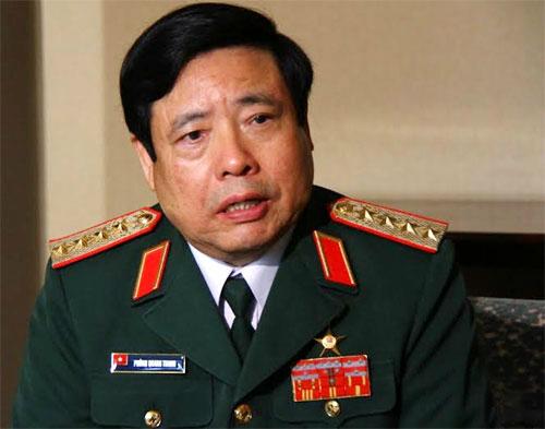"""Bộ trưởng Phùng Quang Thanh: """"Hy vọng Trung Quốc sẽ nói đi đôi với làm"""" 1"""