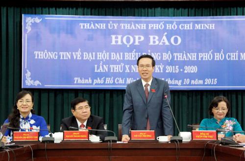 """Ông Võ Văn Thưởng: """"TP HCM chưa bầu Bí thư là đúng quy định"""" 1"""