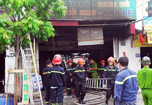 Nổ sập nhà ở Sài Gòn, hai mẹ con bé gái thiệt mạng 1