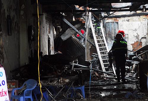 Nổ sập nhà ở Sài Gòn, hai mẹ con bé gái thiệt mạng 3