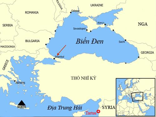 Không kích Syria, Nga muốn có bàn đạp tiến ra Địa Trung Hải 2