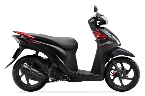 Honda Vision mới vừa ra mắt đã chênh 3 triệu đồng 1