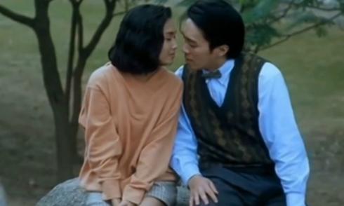 Châu Tinh Trì ngây ngất vì được người đẹp hôn