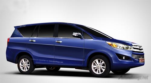 Toyota Innova thế hệ mới ra mắt cuối tháng 11 1