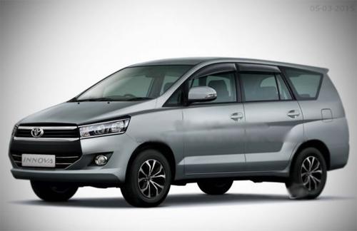 Toyota Innova thế hệ mới ra mắt cuối tháng 11 2