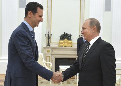 Putin khẳng định tầm cỡ qua cuộc gặp gây bất ngờ với Assad 1