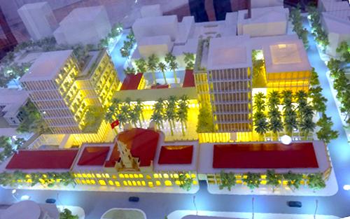 TP HCM chốt phương án thiết kế khu trung tâm hành chính 1