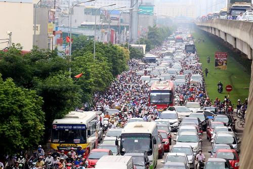 Phó thủ tướng: Hà Nội và TP HCM cần tập trung giải quyết ùn tắc giao thông 1