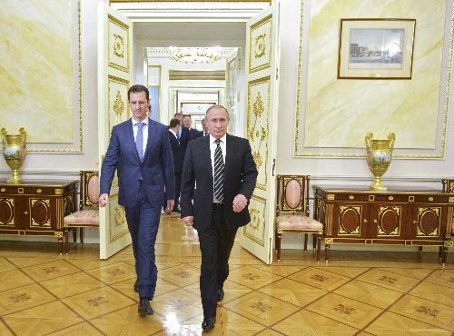 Tổng thống Syria bí mật bay đi gặp Putin như thế nào 2