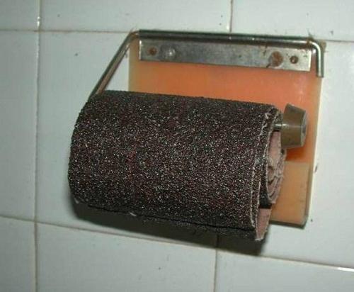 Bạn có dám mạo hiểm với kiểu giấy vệ sinh này không?